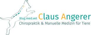 Mag.med.vet. Claus Angerer - Chiropraktik & Manuelle Medizin für Tiere