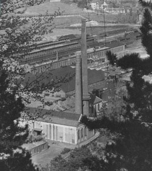 Historisches Foto von der iSi-Produktion in Berndorf