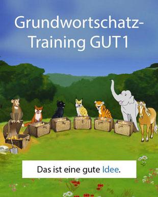 Lernbereich des Grundwortschatz-Trainings GUT1