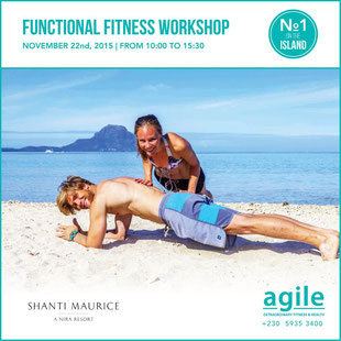 Functional Fitness and Training at the beach