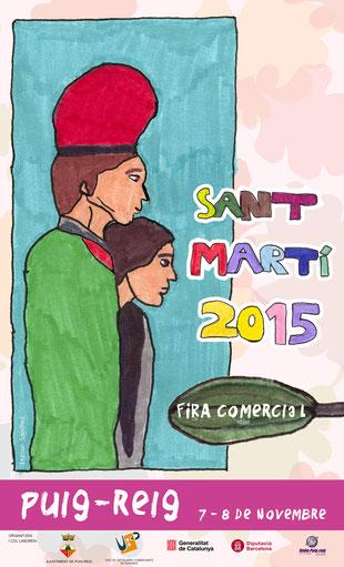 Festa de Sant Martí i Fira de Puigreig 2015 Cartel y Programa