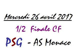 Fanion  Avranches-PSG  2016-17