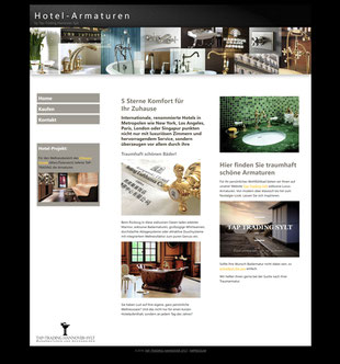 Website hotel-armaturen.de