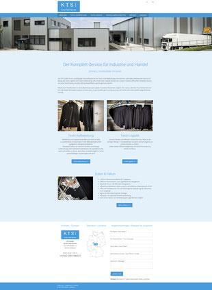 Website kruse-textil-service.de
