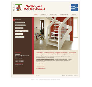 Website tbi-treppen.de