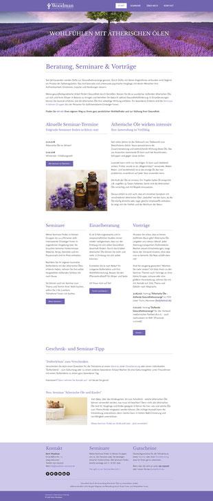 Website lavandula-duftwerkstatt.de