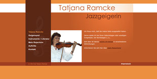 Website tatjana-jazzgeige.de