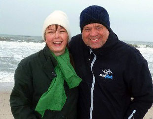 Seit 1976 ein Paar: Gaby und Ingo Kutsche