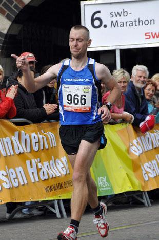 Berlin Marathon 2010: 2:52:19 Std. (PB)