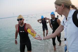 Beim Abu Dhabi Triathlon, 2010.