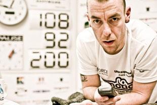 """""""Nur"""" noch 92 Stunden bis zum 200-Stunden-nonstop-Radrekord..."""