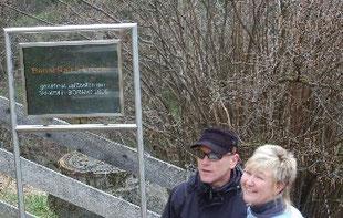 Ralf mit seiner Frau Karina.