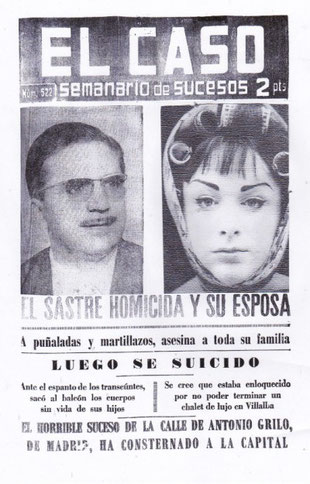 Tour asesinatos de Madrid