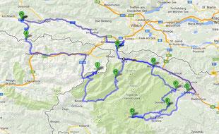 Route Tour 1