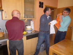 Das Kreisgruppen Küchenteam