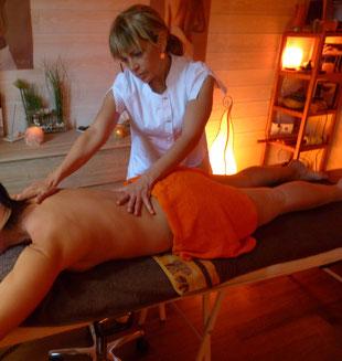 IZA bien-être esthéticienne ares Massage califormien