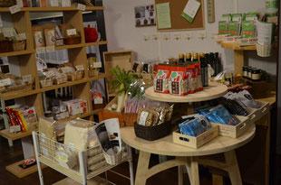 自然栽培米・野生のコーヒー