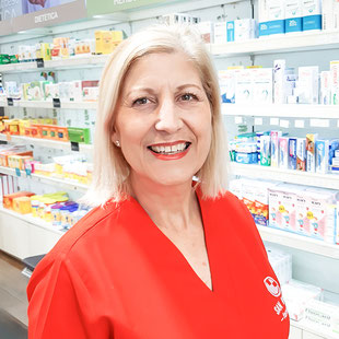Silvia - Auxiliar de Farmacia