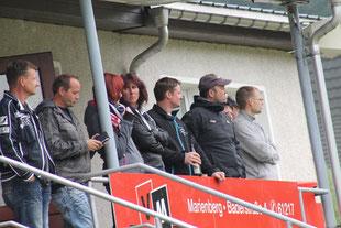 Die Zuschauertraversen im Pobershauer Wildsbergstadion waren gut besucht...