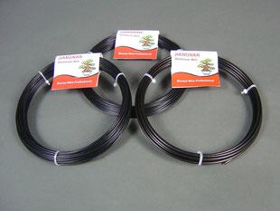 Aluminium - Bonsai - Draht, erhältlich von 1,00 - 6,00 mm