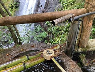 川上村の蜻蛉の滝(せいれいのたき) 奈良県吉野郡川上村西河