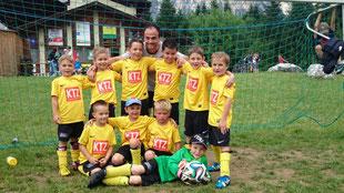 U 7 A Mannschaft mit TR Reithofer Sascha