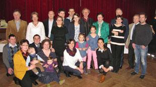 Zu seinem runden Geburtstagsfest kamen auch viele Verwandte aus Kirchberg am Wagram (und Umgebung).