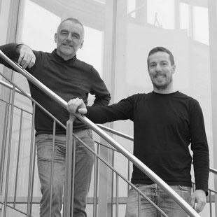 DMTcreaktiv Leitung Stefan Weinmann und Volker Gruber