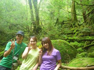 ガイドと一緒にもののけ姫の森へ(白谷雲水峡ガイドツアー)