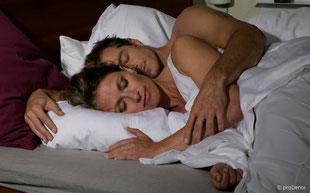 Erholsamer Schlaf mit der sog. Schnarcherschiene