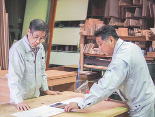 山本木工所での業務内容紹介