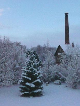 Winterabend 10.12.2010    Foto: Ulrike Mose