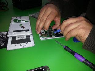 Curso reparación de smartphones