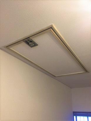 天井 屋根裏 階段 ロフト