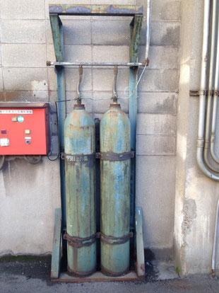 CO₂貯蔵容器は酷く発錆