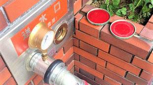 連結送水管耐圧試験