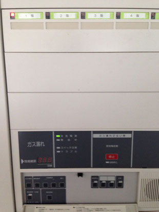 G型受信機でもガス漏れを検知を発報