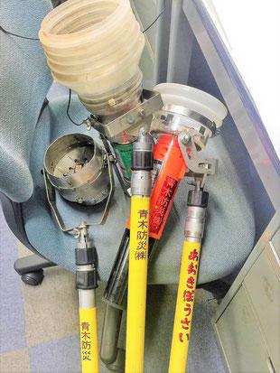 加熱試験器や加煙試験器