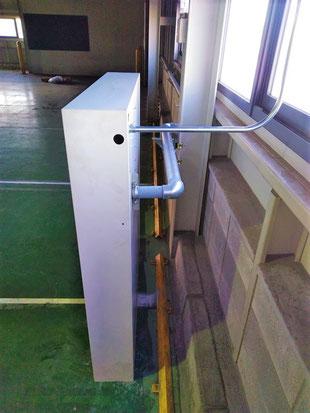 電気配線も金属管で延長