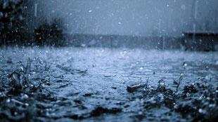 大雨の際はあらゆる箇所が浸水 火災報知器