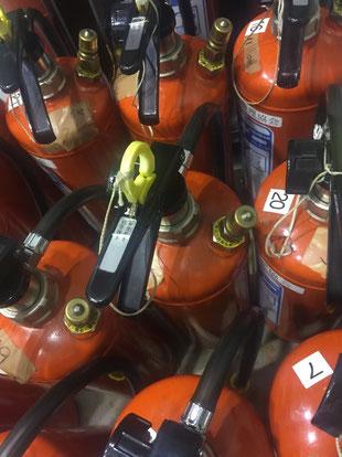 水消火器の弁