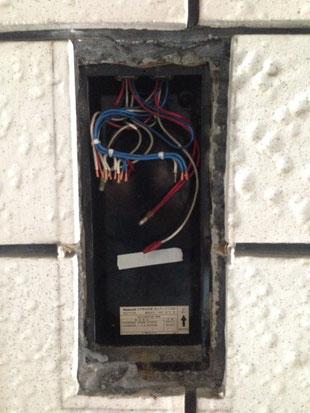 表示灯・ベル・起動ボタンの配線