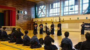 剣道-中3卒団