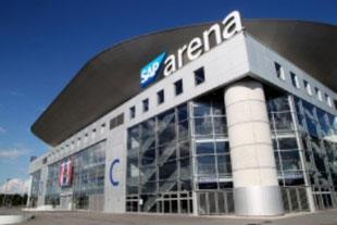 SAP Arena Mannheim in 15 Minuten erreichbar