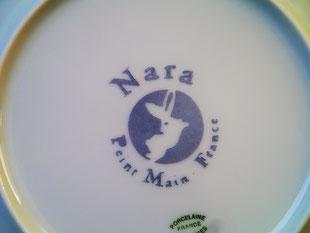 Nara Porcelaine. Peint à la main en France.