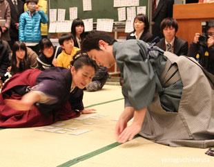 久保久美子永世クイーン(1977年-8期) 西郷直樹 永世名人 (1999年-14期)