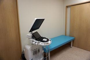 エコー検査ベッド