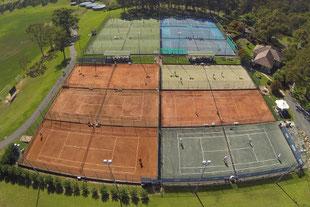 ビンスバークレーテニスアカデミー施設