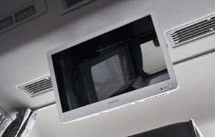 GLACIER-リヤモニター16インチTV