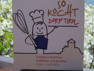 Infoflyer vom Tourismusverein Dorf Tirol